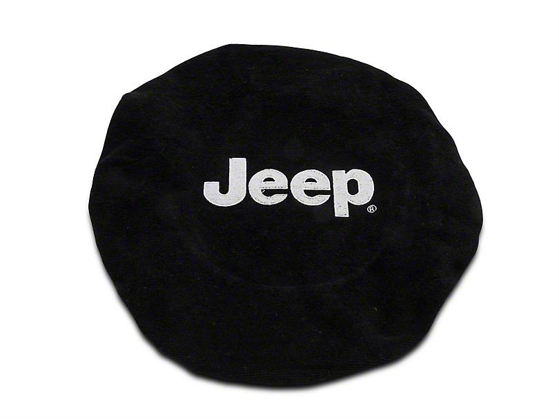 Alterum Steering Wheel Cover w/ Jeep Logo (87-20 Jeep Wrangler YJ, TJ, JK & JL)