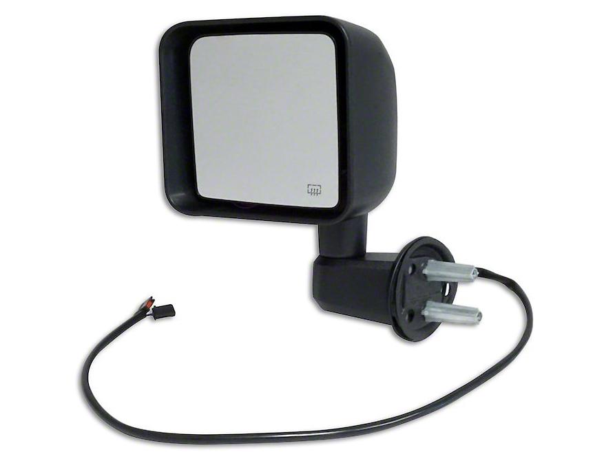 Crown Automotive Heated Power Side Mirror (15-18 Jeep Wrangler JK)