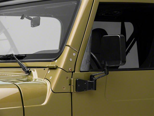 Black Side Mirror (97-06 Jeep Wrangler TJ)