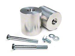 JKS 3 Inch Aluminum Front Bump Stop Extension Kit (97-18 Jeep Wrangler TJ & JK)