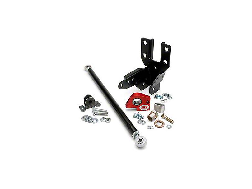 JKS Front Track Bar & Sector Shaft Reinforcement Kit for 2+ in. Lift (07-18 Jeep Wrangler JK)