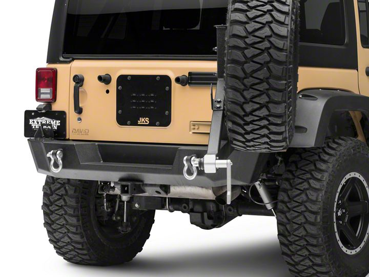 How to Install Zone Offroad Tailgate Vent Cover (07-18 Wrangler JK