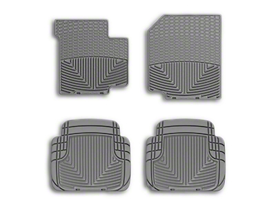 Weathertech All Weather Front Rubber Floor Mats - Gray (87-95 Wrangler YJ)