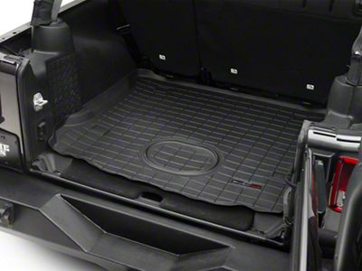 Weathertech DigitalFit Cargo Liner - Black (15-18 Jeep Wrangler JK 4 Door)