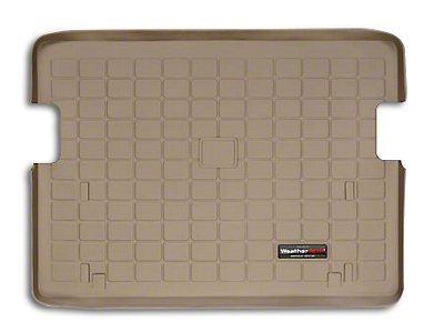 Weathertech DigitalFit Cargo Liner - Tan (03-06 Jeep Wrangler TJ, Excluding Unlimited)