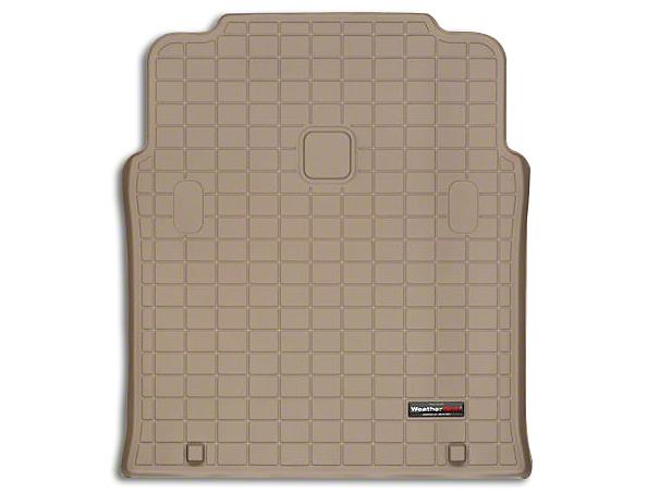 Weathertech DigitalFit Cargo Liner - Tan (04-06 Jeep Wrangler TJ Unlimited)