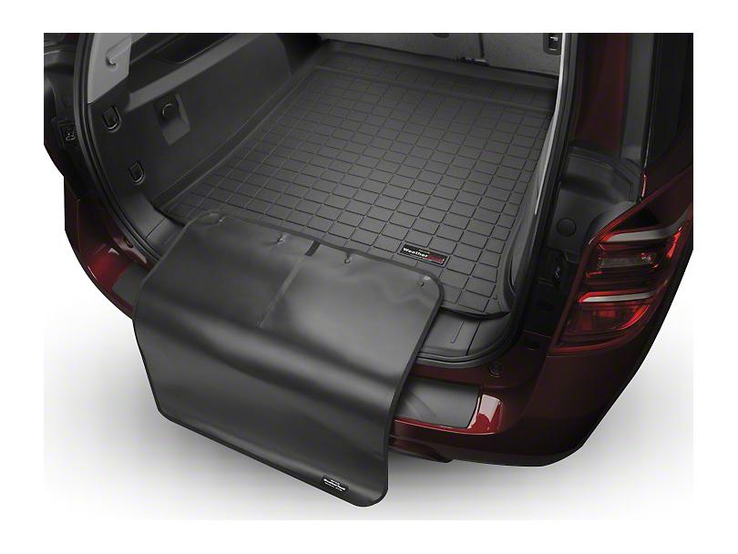 Weathertech DigitalFit Cargo Liner w/ Bumper Protector - Black (07-18 Jeep Wrangler JK 4 Door)