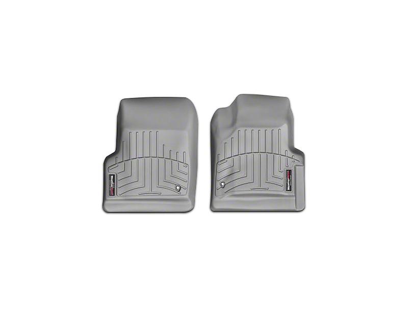 Weathertech DigitalFit Front Floor Liners - Gray (97-06 Jeep Wrangler TJ)
