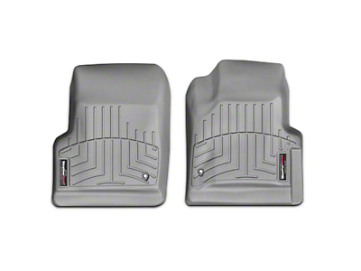 Weathertech DigitalFit Front Floor Liners - Gray (97-06 Jeep Wrangler TJ)