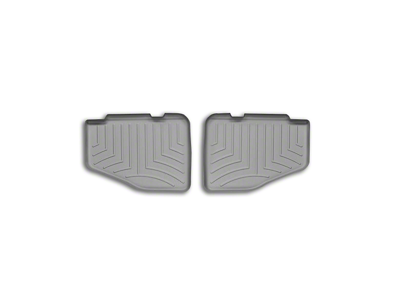 Weathertech DigitalFit Rear Floor Liner - Gray (97-06 Jeep Wrangler TJ)