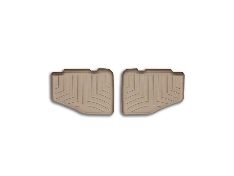 Weathertech DigitalFit Rear Floor Liner - Tan (97-06 Jeep Wrangler TJ)