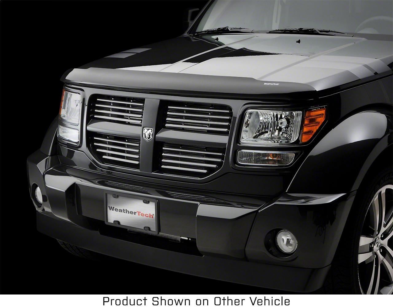 Weathertech Stone & Bug Deflector - Dark Smoke (87-06 Jeep Wrangler YJ & TJ)