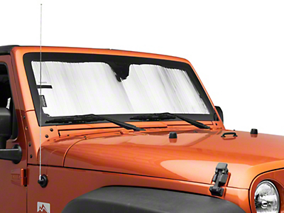 Weathertech TechShade Windshield Sun Shade (07-18 Jeep Wrangler JK)