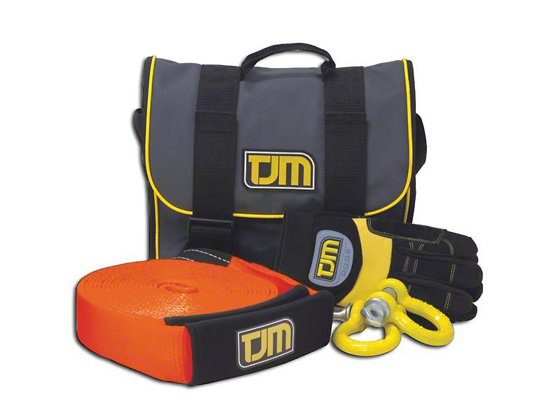 TJM Heavy Duty Snatch Strap Kit