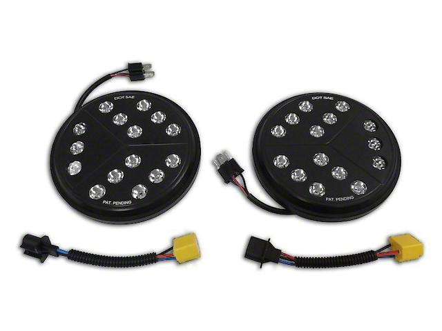 7-Inch Round LED Headlights (97-18 Jeep Wrangler TJ & JK)