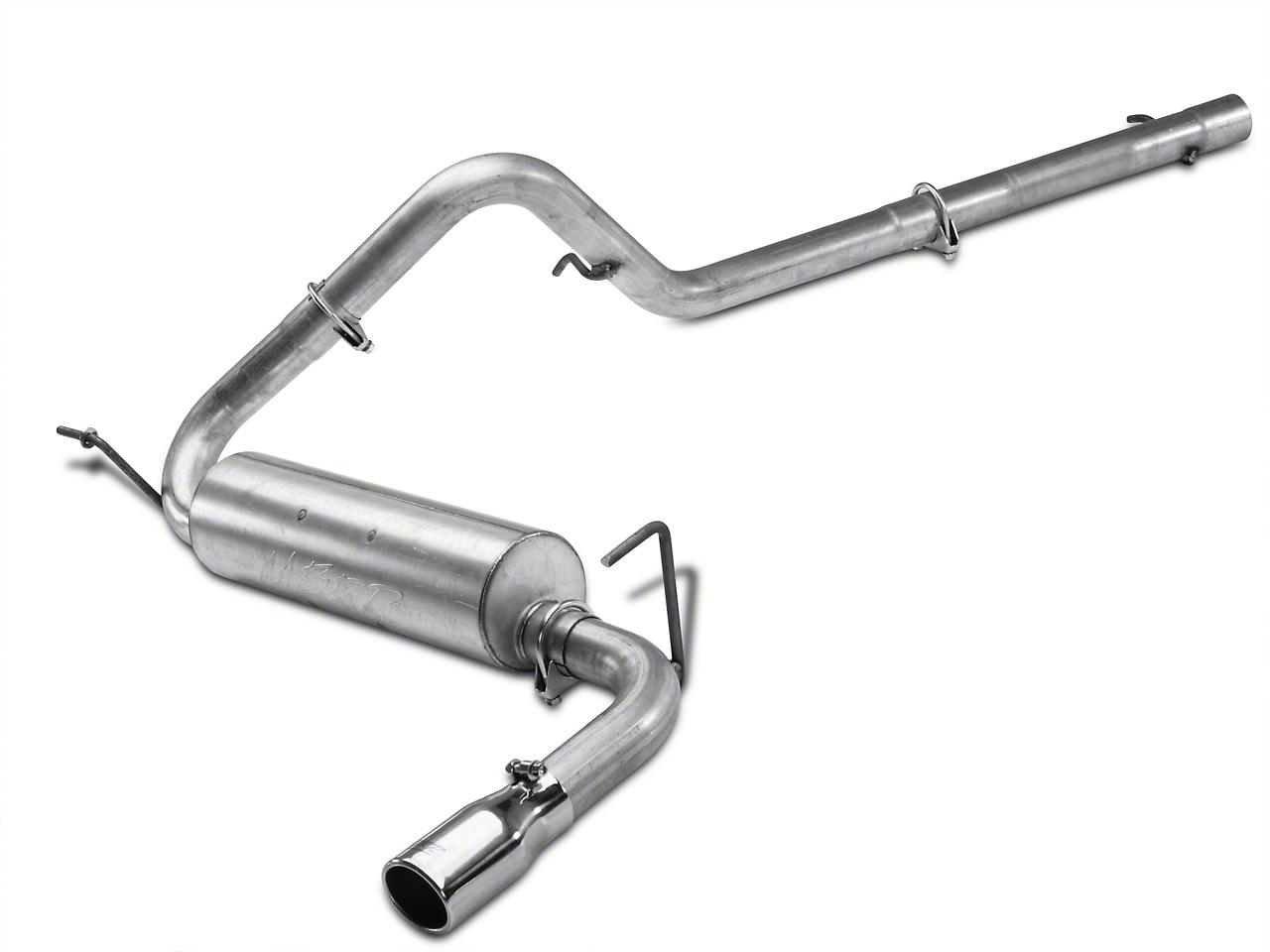 MBRP Installer Series Cat-Back Exhaust (07-11 Wrangler JK 2 Door)