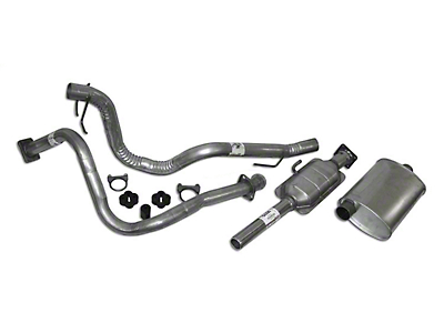 Crown Automotive Complete OEM Exhaust Kit (87-90 4.2L Wrangler YJ)