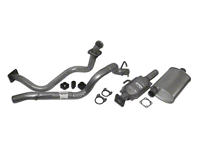 Crown Automotive Complete OEM Exhaust Kit (87-92 2.5L Wrangler YJ)