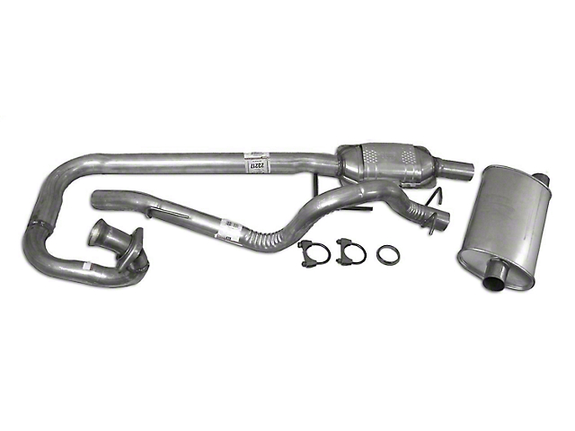 Complete OEM Exhaust Kit (97-99 4.0L Jeep Wrangler TJ)