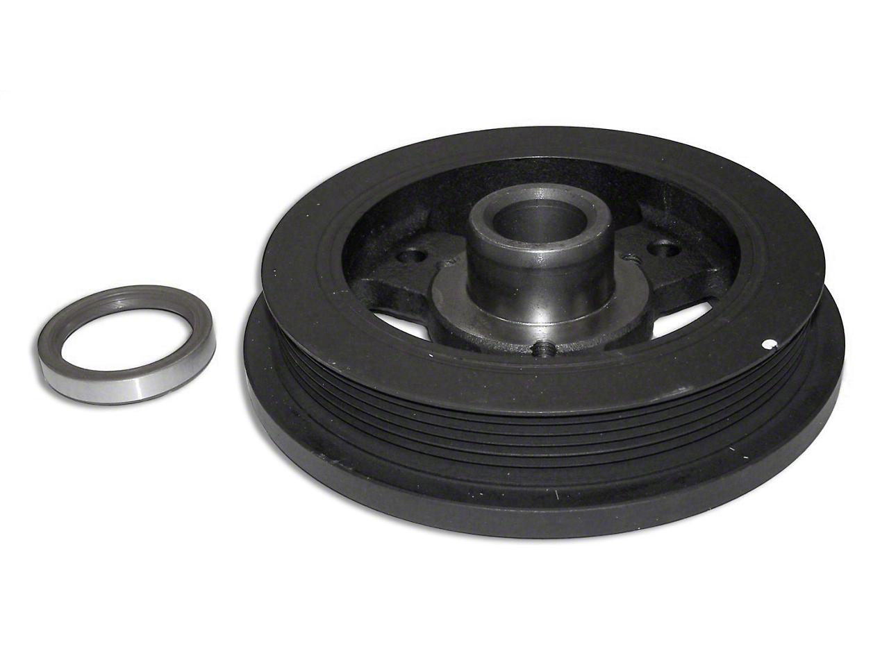 Crown Automotive Crankshaft Damper & Front Crankshaft Seal (91-06 4.0L Wrangler YJ & TJ)
