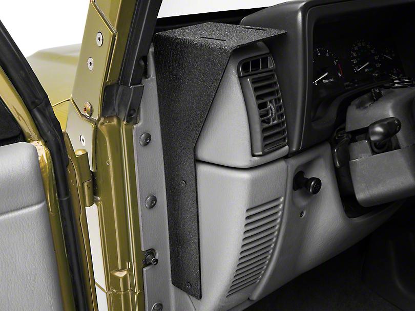 Rugged Ridge CB Radio Dash Mount (97-06 Jeep Wrangler TJ)
