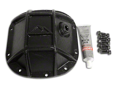 RT Off-Road Dana 30 Front Axle Heavy Duty Front Differential Cover - Black (87-18 Wrangler YJ, TJ & JK)