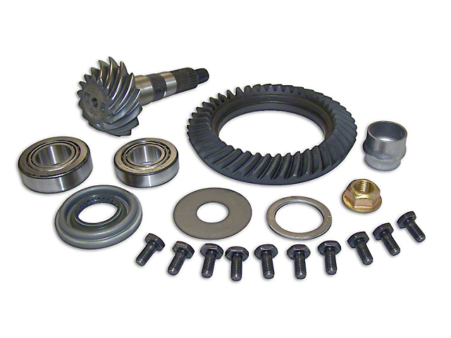 Crown Automotive Dana 30 Front Axle Ring Gear and Pinion Kit - 3.07 Gears (97-06 Jeep Wrangler TJ)