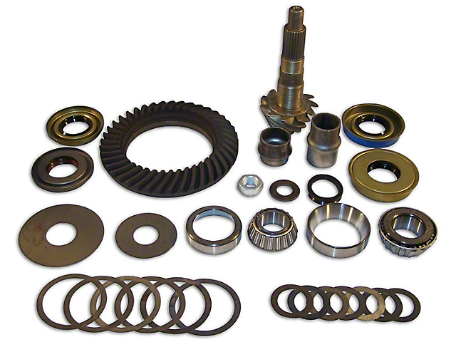 Crown Automotive Dana 30 Front Axle Ring Gear and Pinion Kit - 3.73 Gears (97-06 Jeep Wrangler TJ)