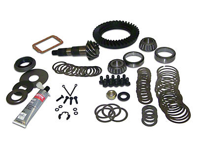 Crown Automotive Dana 30 Front Ring Gear and Pinion Kit - 4.10 Gears (87-95 Wrangler YJ)