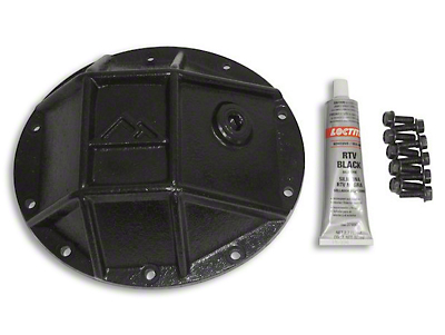 RT Off-Road Dana 35 Rear Axle Heavy Duty Rear Differential Cover - Black (87-07 Wrangler YJ, TJ & JK)