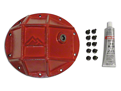 RT Off-Road Dana 35 Rear Axle Heavy Duty Rear Differential Cover - Red (87-07 Wrangler YJ, TJ & JK)