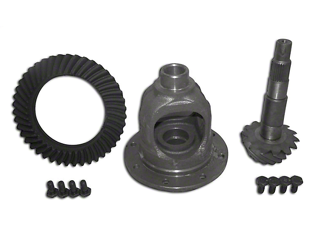 Dana 35 Rear Axle Ring and Pinion Gear Kit; 3.07 Gear Ratio (87-90 Jeep Wrangler YJ)