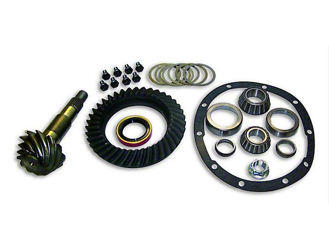 Dana 35 Rear Ring Gear and Pinion Master Kit - 4.55 Gears (87-04 Jeep Wrangler YJ & TJ)