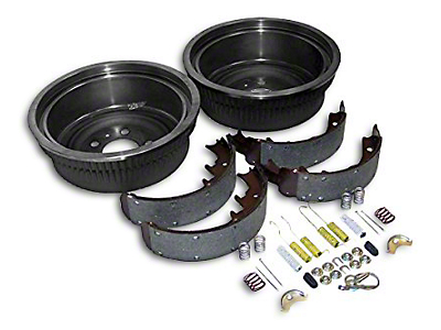 Crown Automotive Dana 44 Rear Axle Brake Drum Service Kit (87-90 Wrangler YJ w/ 10 in. Rear Drums)