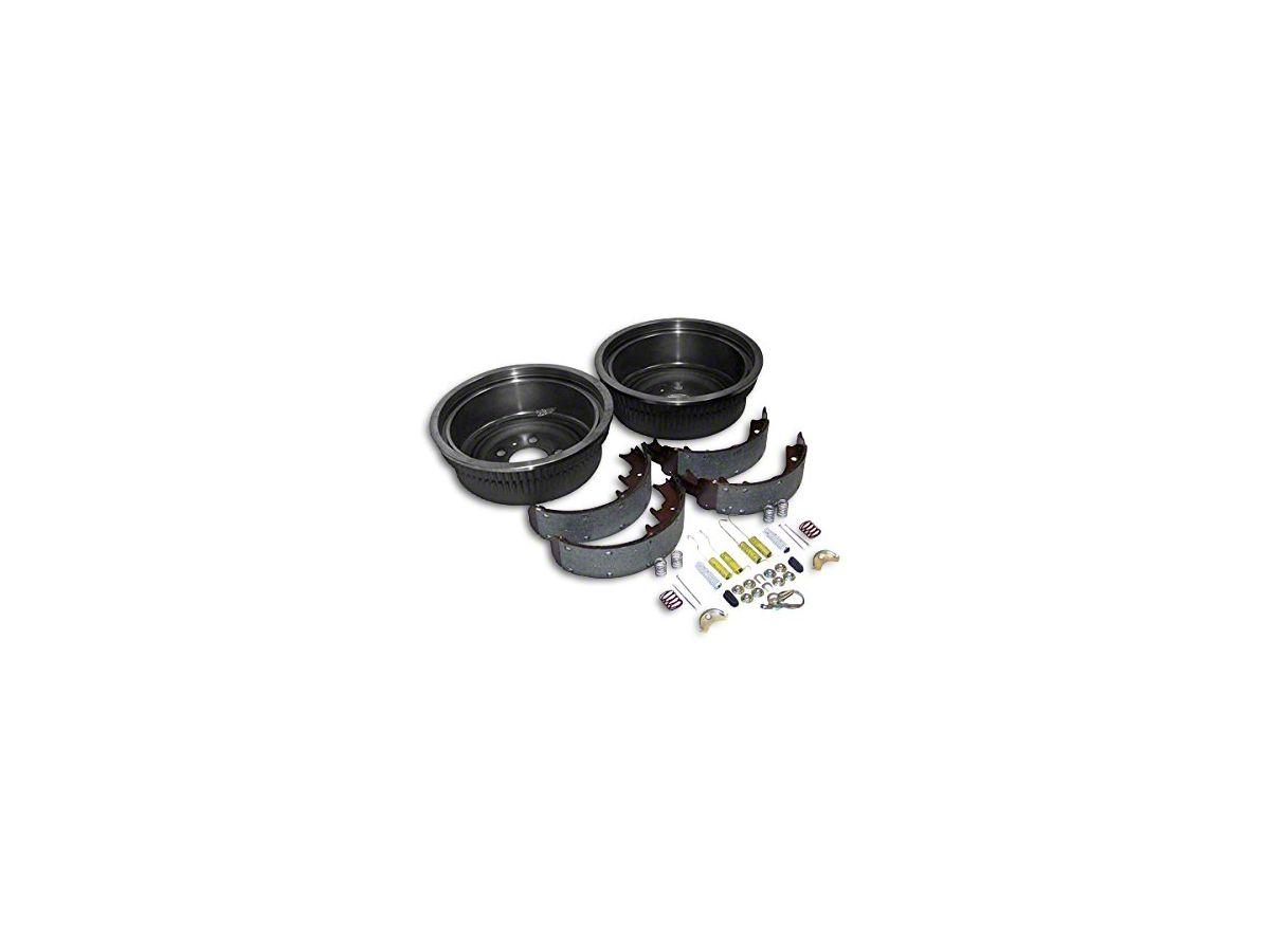 Dana 44 Rear Axle Brake Drum Service Kit (87-90 Jeep Wrangler YJ w/ 10 in   Rear Drums)