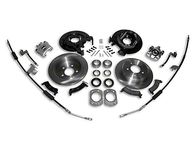 RT Off-Road Dana 44 Rear Axle Disc Brake Conversion Kit (97-06 Jeep Wrangler TJ w/o ABS)