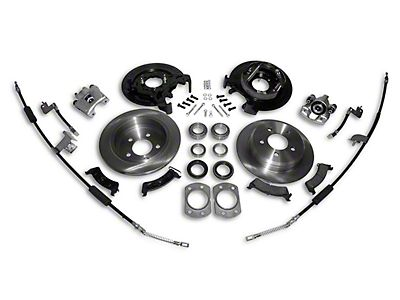 Jeep Wrangler Dana 35 Rear Axle Disc Brake Conversion Kit w