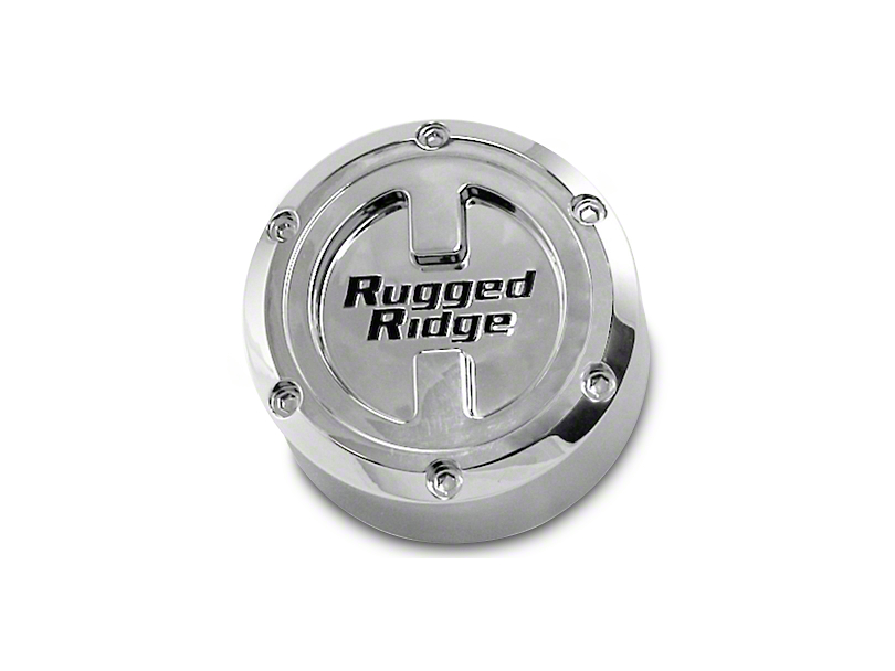 Rugged Ridge Center Cap For 17X9 Aluminum Wheels (07-19 Jeep Wrangler JK & JL)