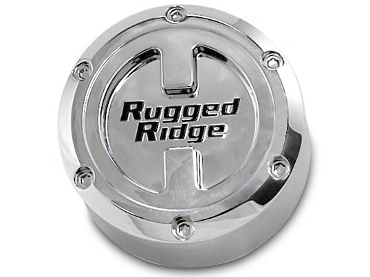 Rugged Ridge Center Cap For 17X9 Aluminum Wheels (07-18 Jeep Wrangler JK; 2018 Jeep Wrangler JL)