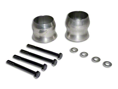 RT Off-Road Exhaust Spacer Kit for 2.5+ in. Lift (12-18 Wrangler JK)
