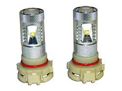 LED Fog Light Bulbs; PSX24W (10-21 Jeep Wrangler JK & JL)