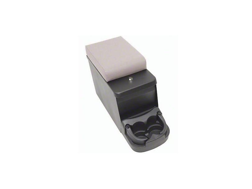 Smittybilt Security Floor Console; Charcoal Denim (87-95 Jeep Wrangler YJ)