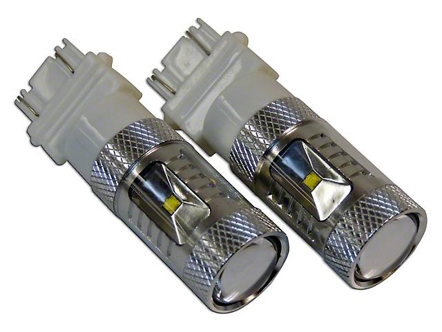 Front Turn Signal/Parking Light LED Bulbs; 3157 (84-06 Jeep Wrangler YJ & TJ)