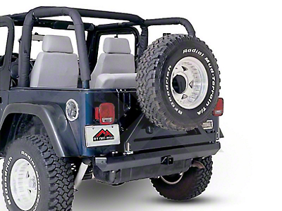 RT Off-Road Full Replacement Roll Bar Pad & Cover Kit - Black Denim (92-95 Wrangler YJ)