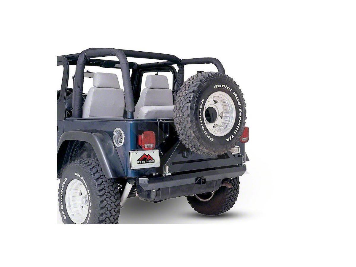 Jeep Wrangler Full Replacement Roll Bar Pad And Cover Kit Black Denim 92 95 Jeep Wrangler Yj