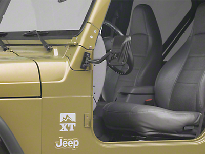 RT Off-Road Quick Release Rectangular Mirrors (87-18 Jeep Wrangler YJ, TJ, JK)
