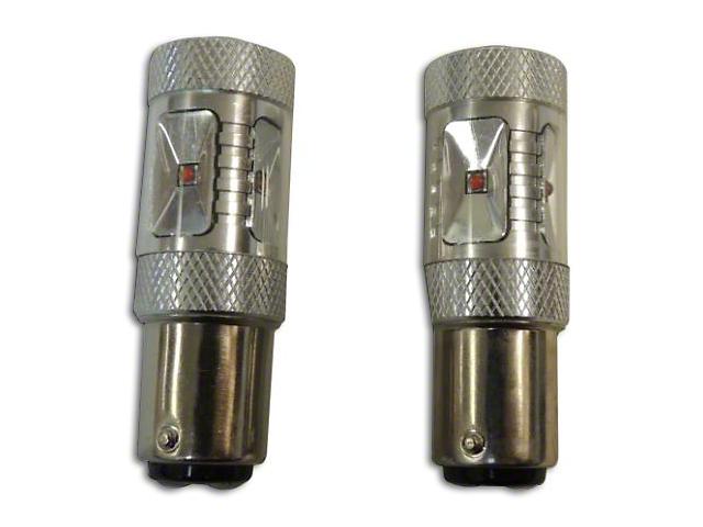 Rear Turn Signal/Parking Light LED Bulbs; 1157 (97-06 Jeep Wrangler TJ)