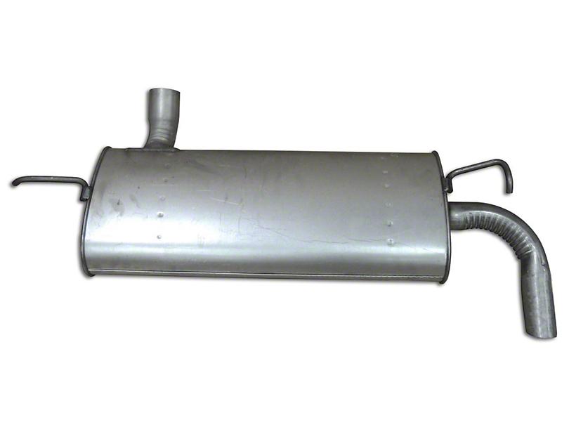 Replacement Muffler & Tailpipe (07-11 3.8L Jeep Wrangler JK)