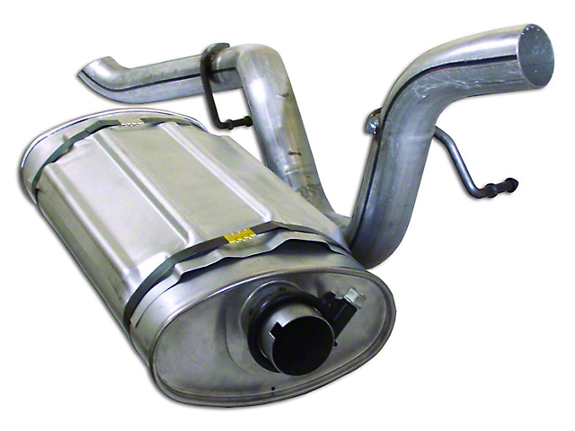 Replacement Muffler and Tailpipe (97-98 4.0L Jeep Wrangler TJ)