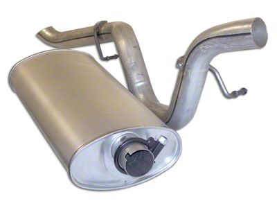 Jeep Wrangler Replacement Muffler And Tailpipe 99 1 24 00 4 0l Jeep Wrangler Tj